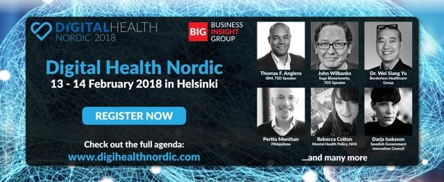 Atostek At Digital Health Nordic 2018