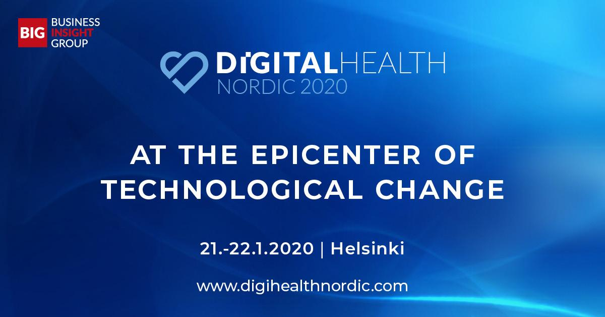 Welcome To Digital Health Nordic 2020!
